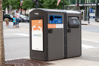 Big Belly trash cans save the city thousands of dollars each year.