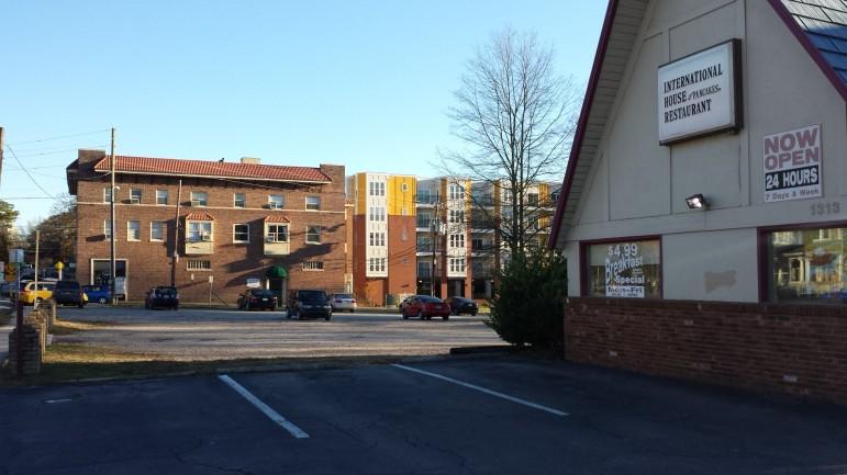 Hillsborough iHop apartments Ashe