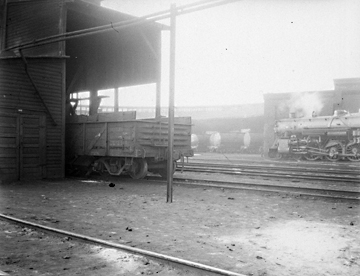 N.53.15.9706 Seaboard Air Lines Roundhouse, 1938