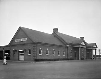 N_53_15_9615 Seaboard Air Lines Depot in Raleigh, NC 1950