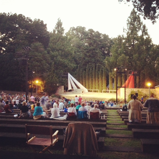 Barre Theater puts on a performance of As You Like It in August 2013.