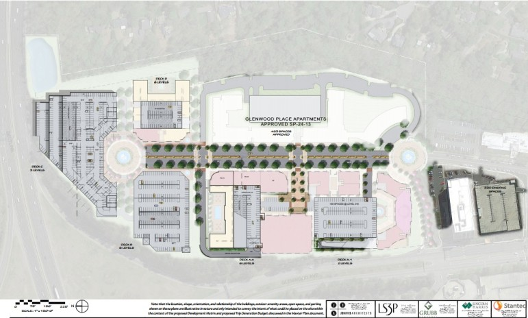 Site plans for Glenwood Place