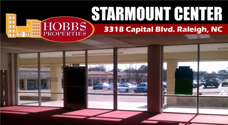 The Starmount Shopping Center is located on Capital Boulevrd across from Adventure Landing