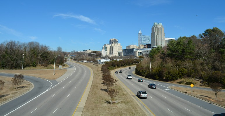 Downtown Raleigh is currently facing a hotel room shortage.