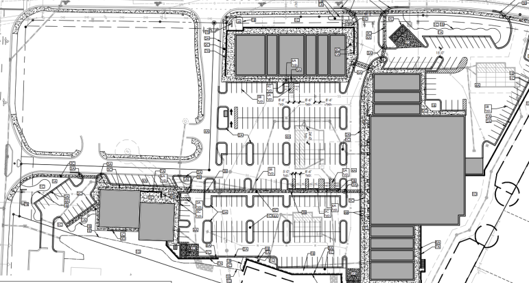 Site plan drawings for Olive