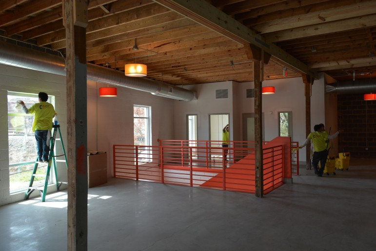 March 2016: Spectraforce's main offices will be upstairs