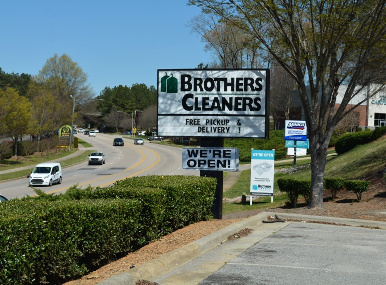 Brothers Cleaners is open for business!