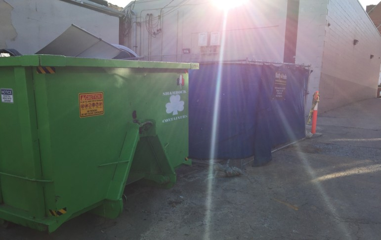 Themed dumpsters, I love it!