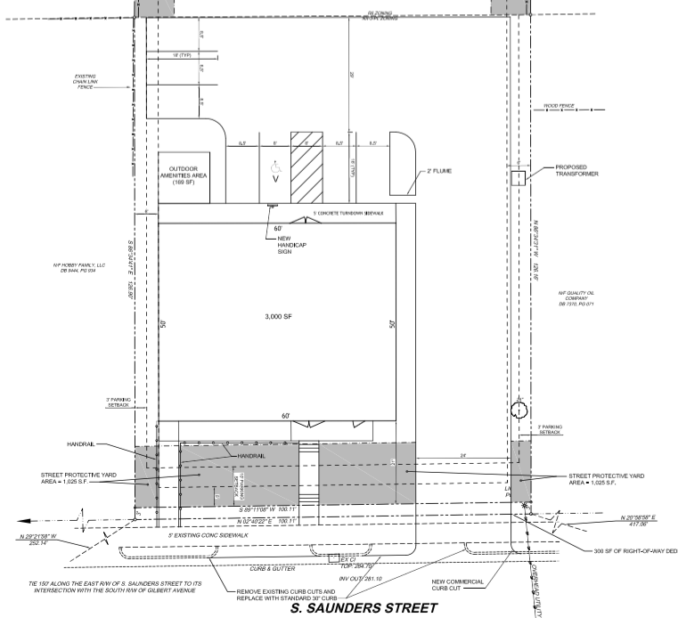 Site plans for the new Esquina Latina