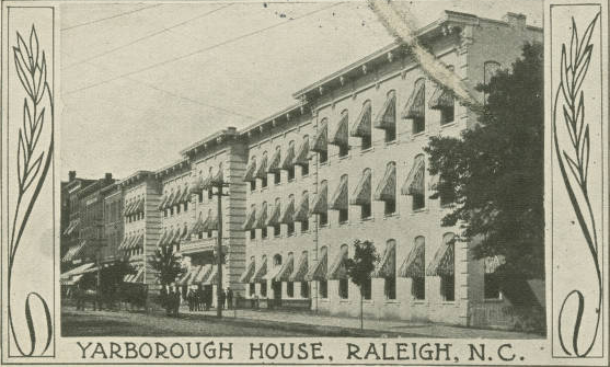 A postcard from the Yarborough House