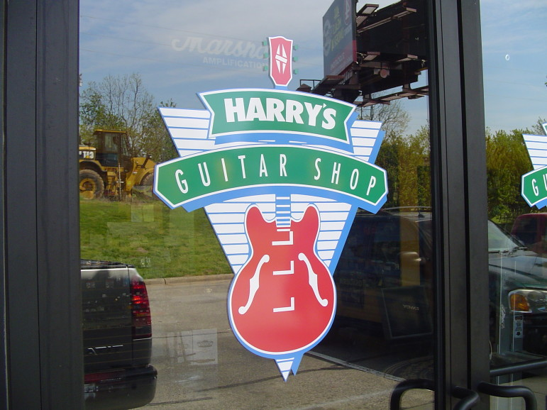 Harry's Guitar Shop has been in business for more than 30 years