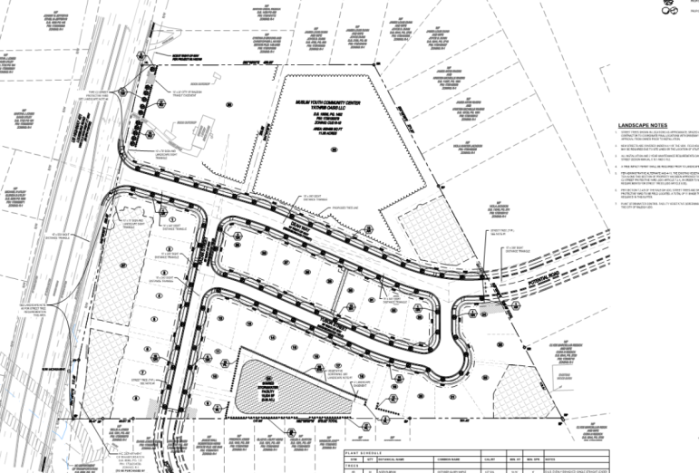 Site plans for the Oasis Neighborhood