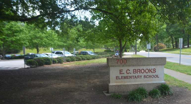 EC Brooks/Brooks Museum Magnet Elementary. Note: I got permission from the school before taking this shot.