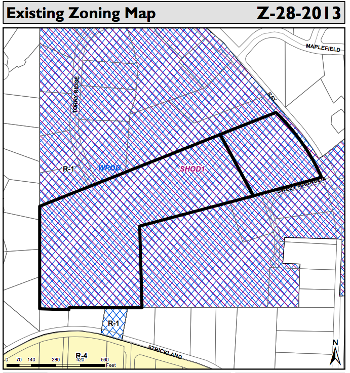 The failed rezoning case