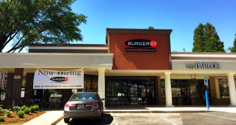 Burger 21 will open on Monday, June 13