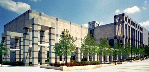 An architectural rendering of the NC Museum of History from the mid-1990s