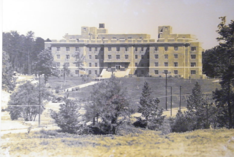 An historic photo of the Old Rex Hospital