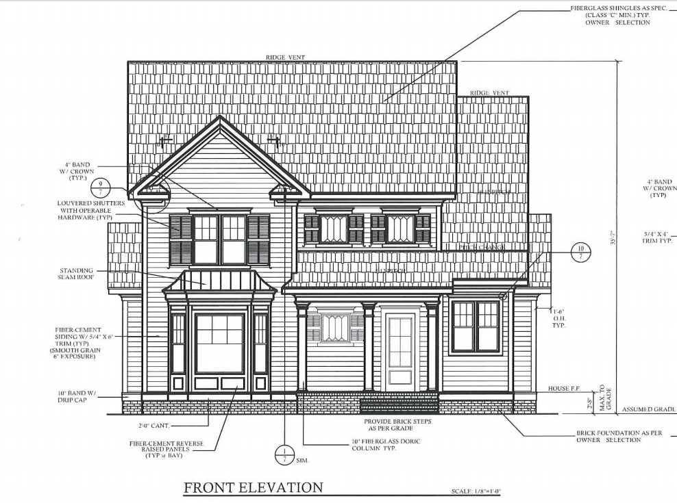 Plans for the new home
