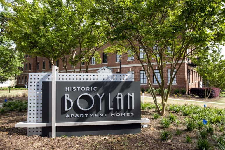 Historic Boylan Apartments, renovated one bedroom for Kane Residential