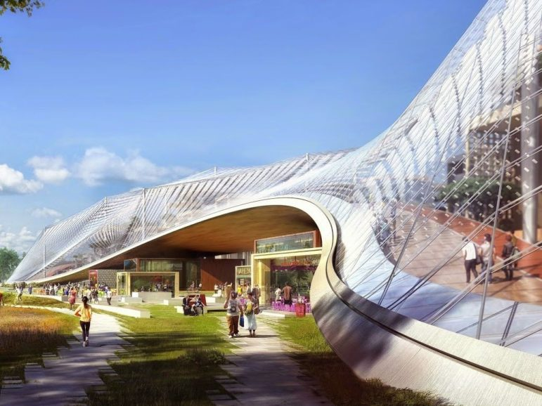 Will the City of Raleigh's new Civic Campus draw inspiration from Google's futuristic campus? We hope so!